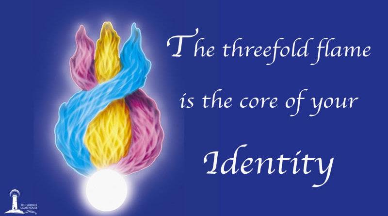 Threefold flame