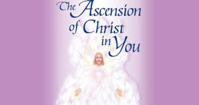 The ascension in Christ