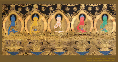 The Five Dhyani Buddhas