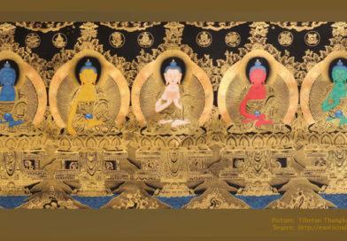 Vijf Dhyani Boeddha's