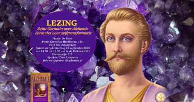 Lezing Saint Germain over Alchemie