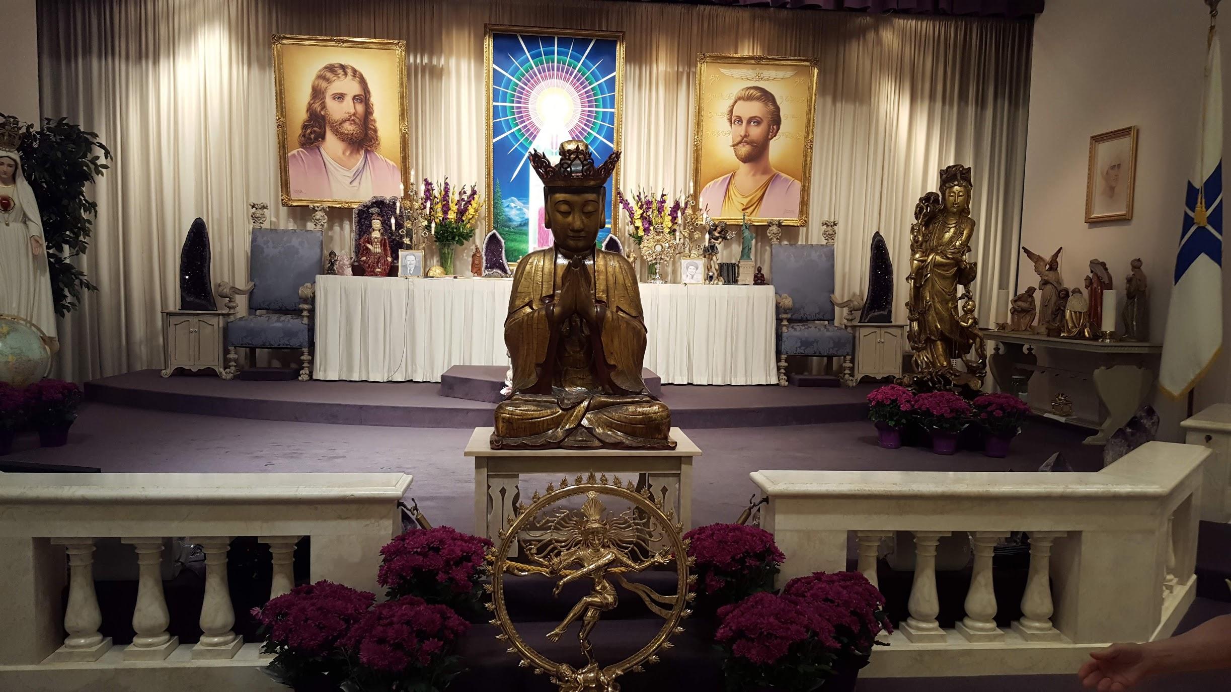 Altar Church Universal Triumph Montana