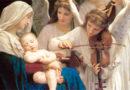 Moeder Maria omarmt het Christenkind in ons