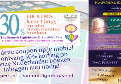 Wij staan op de Gezondheidsbeurs in Utrecht